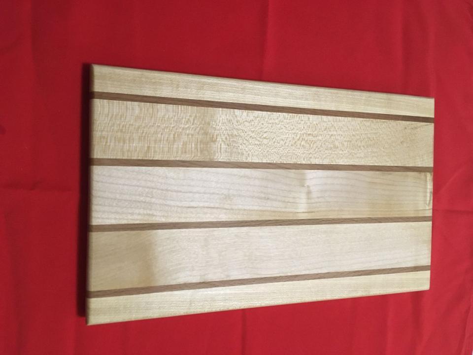 Tocator dreptunghiular din lemn de fag/ artar
