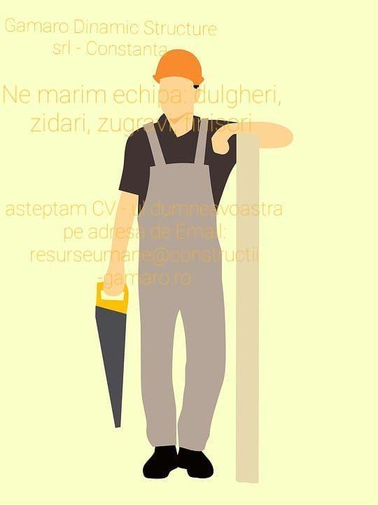 Angajam#Zidari#Dulgheri#Zugravi#Finisori
