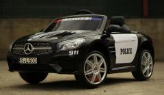 Masinuta electrica Mercedes-Benz SL500 Police 90W 12V cu Bluetooth