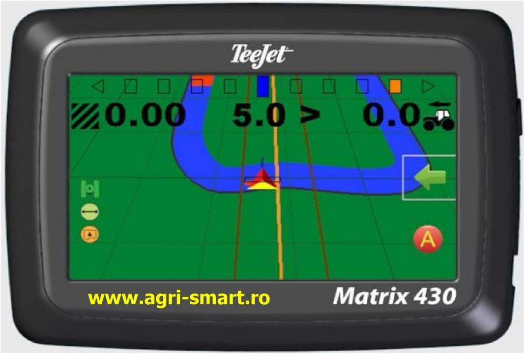 GPS agricultura Matrix 430: ghidare si masurare suprafete agricole