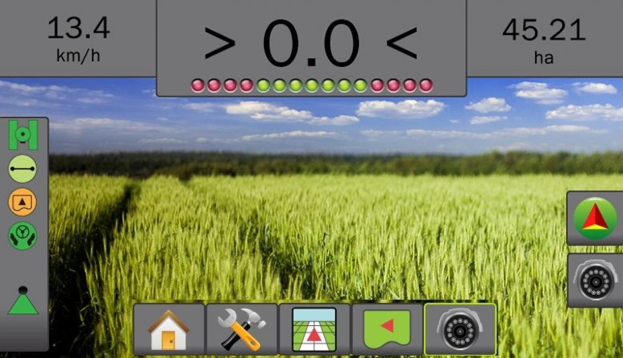 GPS agricultura Matrix 570: ghidare si masurare suprafete agricole