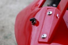 Masinuta-KART electric pentru copii RAZER GT echipat CU ROTI MOI #RED
