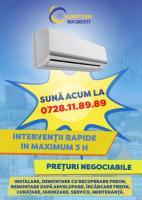 AER CONDITIONAT - Instalare, Reparatii, Incarcare Freon, Igienizare
