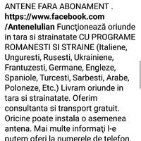 ANTENE FARA ABONAMENT
