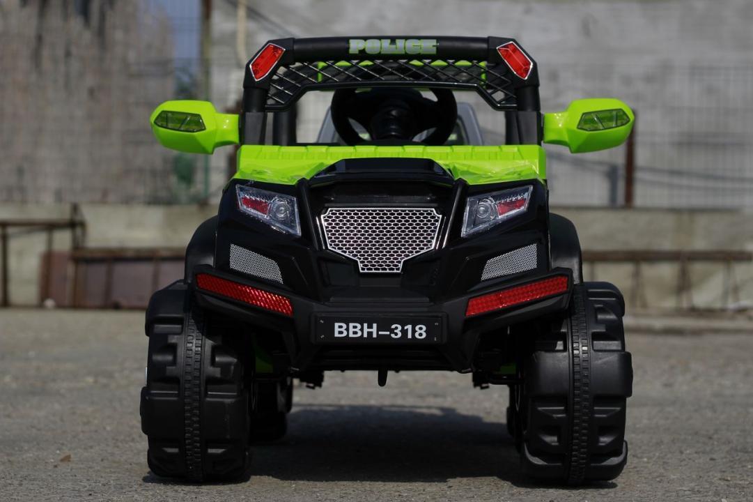 Masinuta electrica de politie KINDERAUTO BBH-318 70W 12V