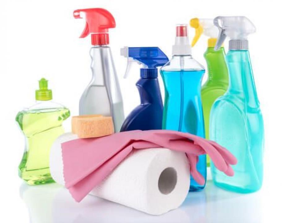 Cuplu pentru domestic cleaning