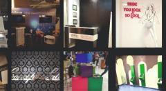 Productie publicitara, litere volumetrice, casete luminoase, panouri,