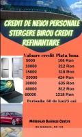 Credit de nevoi personale-refinantare-stergere istoric negativ