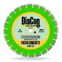 Disc diamantat beton proaspat DiaCon 350 mm