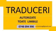 Traduceri ACTE AUTO