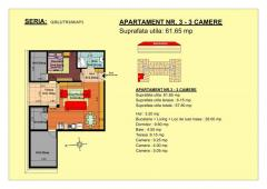 De vanzare- apartament 2  camere