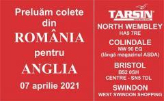 transport colete Romania Anglia Londra Bristol si imprejurimi