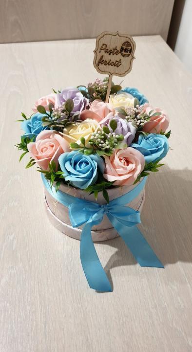 Aranjamente flori de săpun