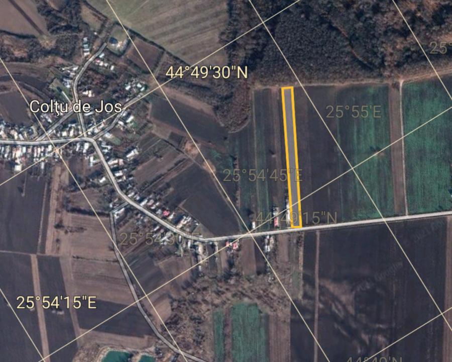 Teren Intravilan Negociabil Coltul de Jos ,16 km de Ploiesti