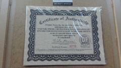 Vand tablou STAR WARS cu semnatura Russell, certificat Framemakers.