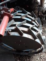 Set roti metalice cu manicoti 500/12 pentru MOTOCULTOR