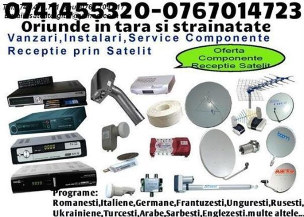 ANTENE TV SI RADIO FARA ABONAMENT-0767014723