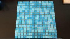 Mozaic de sticla pentru piscina, spa, sauna, stalpi