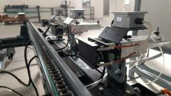 Mașină nouă de imprimat cu încărcare manuală si ștampilare automată a paleților finiți