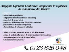 Operatori calibrare / compactare