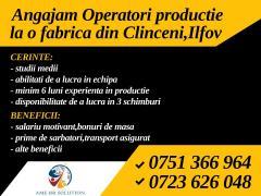 Operatori productie