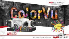 KIT Camere Supraveghere ColorVu 5.0 MP - cu instalare inclusa!