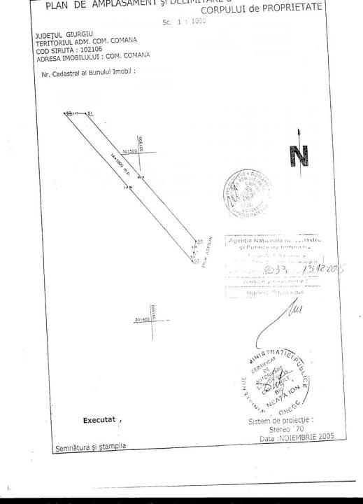 Teren intravilan - Gradistea - Giurgiu
