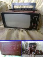Televizor portabil alb negru Foarte RAR 5 inci
