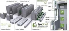 Elementr IsoShell pentru case cu eficienta energetica A+