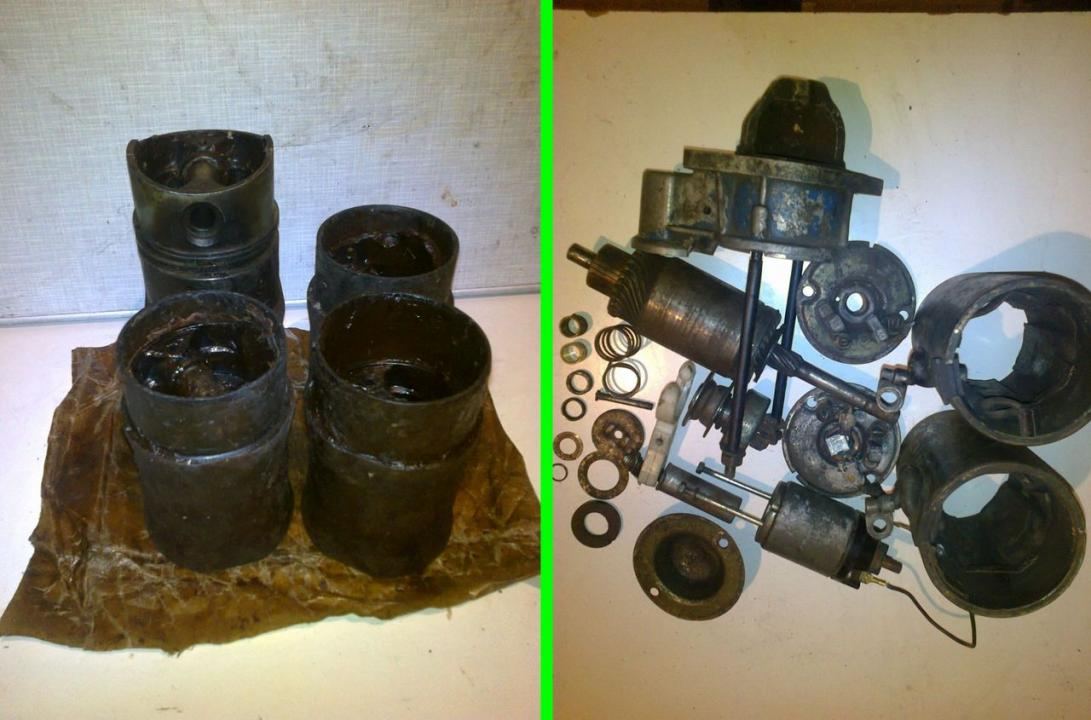 Set Motor Dacia 1400 si 2 Electromotoare
