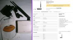 Router Wireless-N Tenda N-3