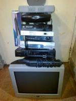 PlayStation Receiver Converter Statie CATV Monitor etc