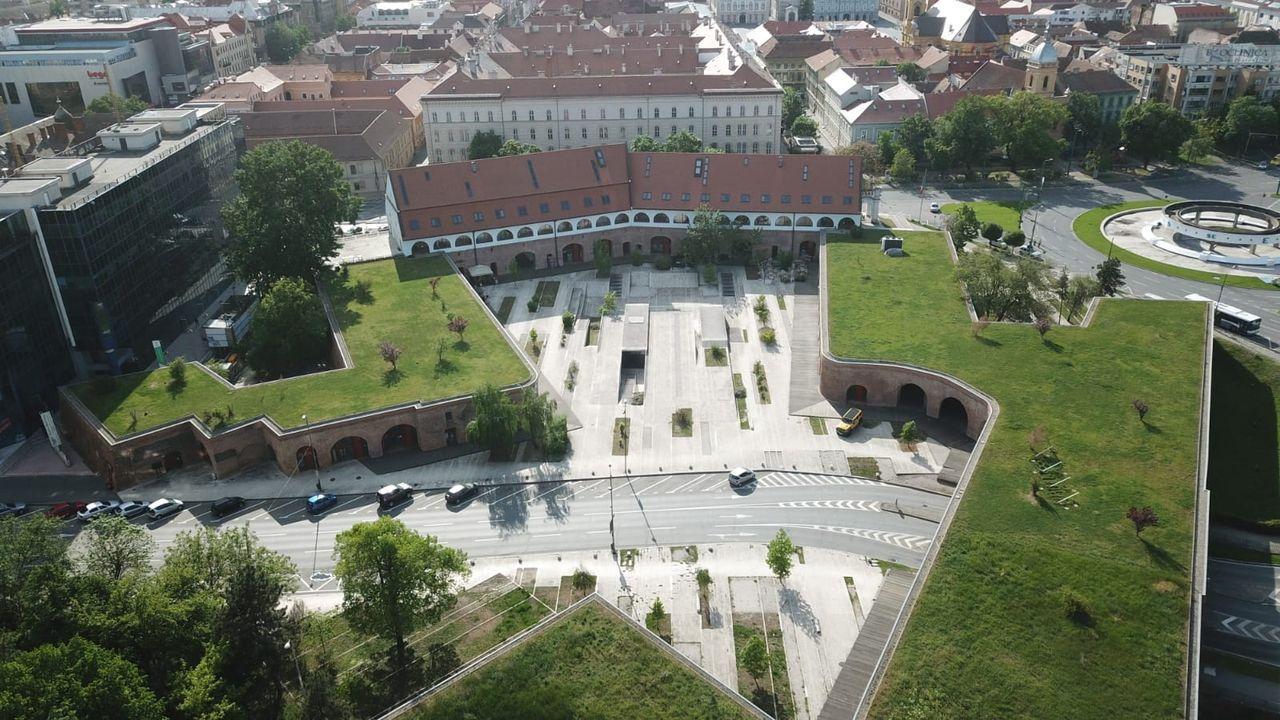 Spații disponibile pentru deschiderea de afaceri în Bastionul Theresia