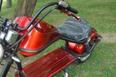 Scuter electric 2000W 60V 20Ah Smarda SDM-U1 #RED Wine