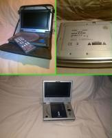 DVD player portabil 7 inch 2 buc. Husa si Telecomanda