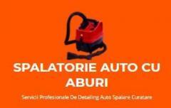 SPALATORIE AUTO CU ABURI  Detailing Auto Spalare Curatare