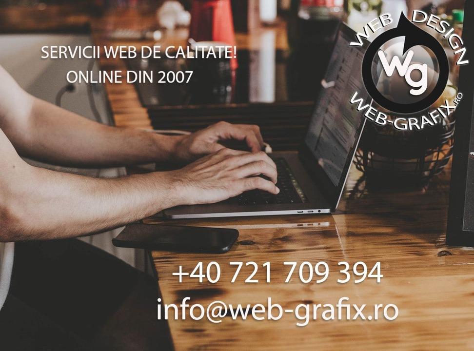 Realizare website la cheie - Webdesign