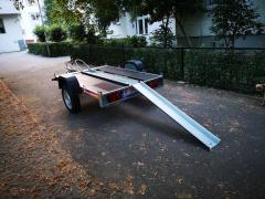 Inchiriez / inchiriere remorca transport moto ATV 50 lei/zi