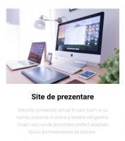 Creare site de prezentare / Web design/ Magazin online