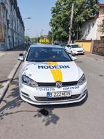 Scoala de soferi pe  VW  GOLF 7