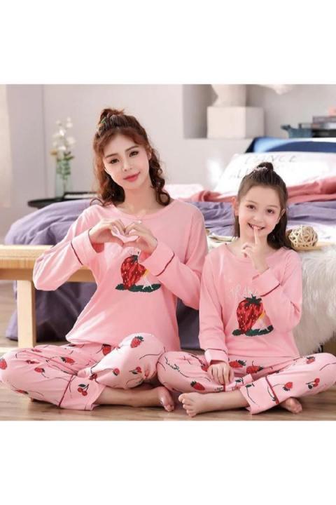 Pijamale copii, pijamale mama fiica