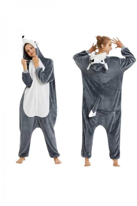 Pijamale copii,  model Lup
