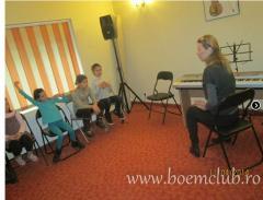 Lectii de muzica la Scoala de muzica  Boem Club