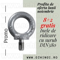 Ochet insurubabil DIN 580 stoc Bucuresti Total Race, 8+2 gratis