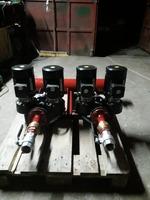 Distribuitor agent termic cu 2 circuite si 2 pompe duble Grundfos