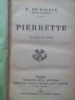 Pierrette, H.DE BALZAC , Paris , 1896