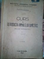 Curs de reproductia animalelor domestice biologia reproductiei,1965