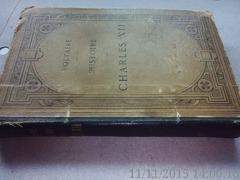 Histoire de charles xII , Voltaire, 1891