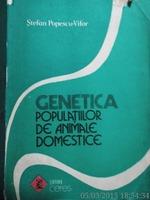 Genetica populatiilor de animale domestice , Popescu, 1990