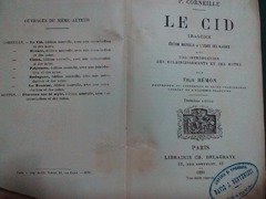 Le Cid, tragedie, P.Corneille, 1891